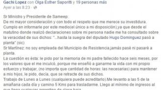 """Esta es la carta pública de """"Gachi"""" Lopez a Gustavo Martínez"""
