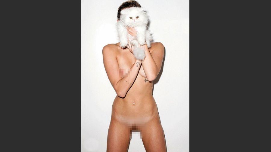 Fotos sexy de miley cyrus desnudas