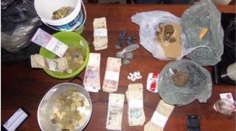 Villa Angela: Secuestran en un centro de venta, marihuana y más $20.000