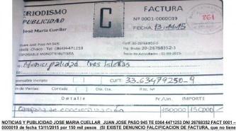 Tres Isletas: Allanaron el municipio en la investigación por facturas truchas