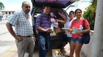 Campaña contra el dengue: Salud entregó insumos en Villa Ángela
