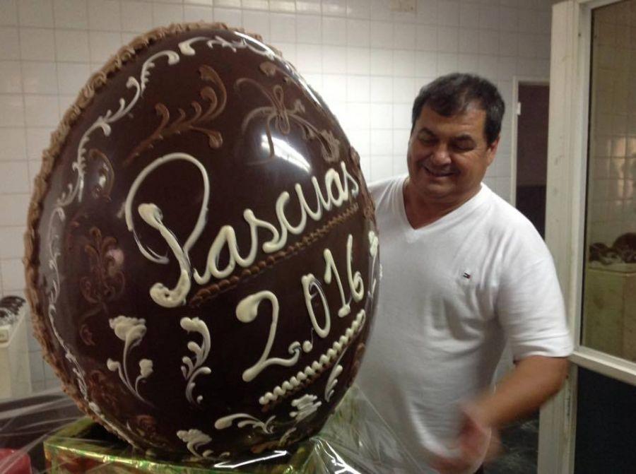 El huevo de pascua m s grande de argentina for Huevo en el ano