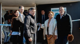 """Fontana: Inauguraron el jardín de Infantes N° 216 """"Rita Delma Hauptmann de Bogado"""""""