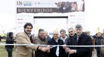 """Inauguraron """"La Nación Ganadera"""" en el INTA Balcarce"""