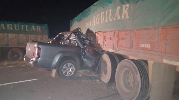 Tremendo choque en Corrientes deja un muerto y un chaqueño detenido