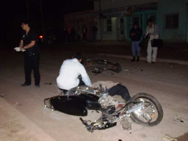 Choque múltiple en Charata: murió un peatón