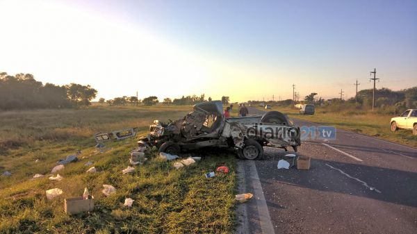 Anticipo Diario21: Tremendo accidente deja un muerto en cercanías a Machagai