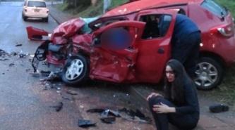 Accidente fatal: Conductor alcoholizado provoca choque frontal y mueren dos personas
