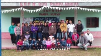 """""""Visión Solidaria"""" realizó control oftalmológico a los niños de Pampa Nueva"""