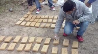 Puerto Bermejo: incautan más de 100 panes de marihuana