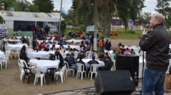 Resistencia: Más de mil niños participaron de la Peña solidaria de la Fundación Gastón