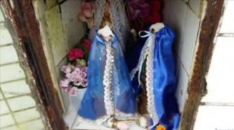 """Indignación: """"Decapitaron"""" imágenes de la virgen de Itatí"""