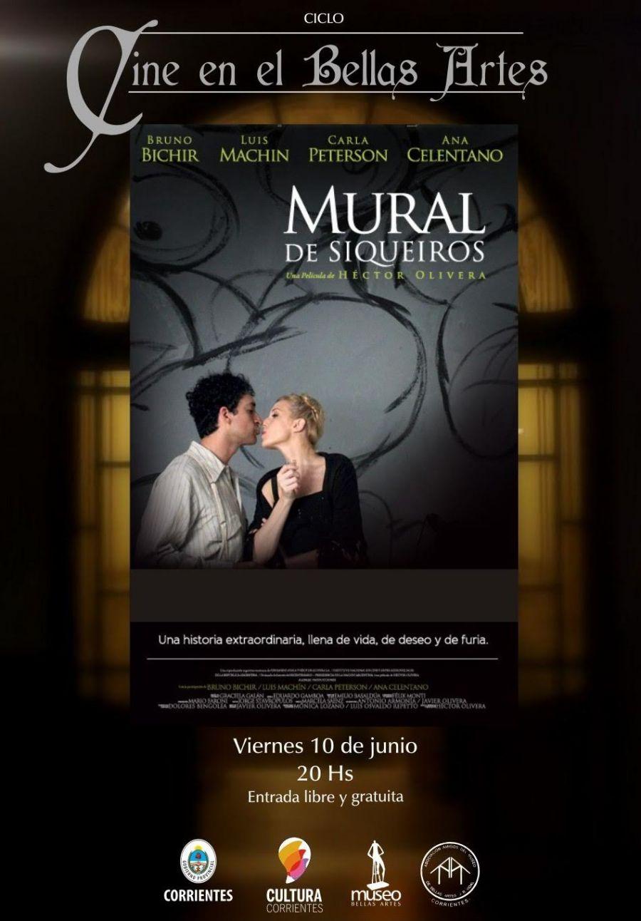 Hoy en el bellas artes proyecci n gratuita for El mural de siqueiros pelicula