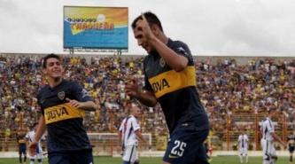 Boca en Chaco, jugara un amistoso con Libertad de Paraguay en el Estadio Centenario