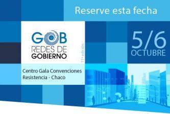Chaco será la sede del evento nacional de Redes de Gobierno y Ciudades Digitales 2016