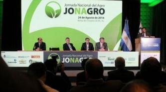 Buenos Aires: El ministro de Producción Gabriel Tortarolo participó de JONAGRO 2016