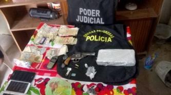 Droga en Pinedo: Fiscalía de narcomenudeo y policía secuestran marihuana