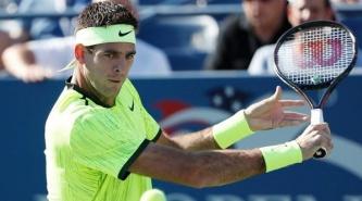 Del Potro le ganó a Schwartzman en el US Open