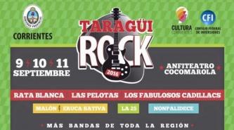 Corrientes: El Taragüi Rock cada vez más cerca