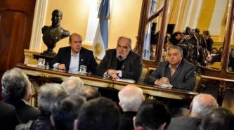 Colombi presentó el proyecto de Reforma Constitucional