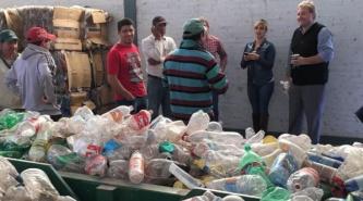 La Diputada Panzardi recorrió las instalaciones de la planta de residuos de Pampa del Infierno