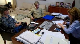 Salud e Iprodich acordaron acciones conjuntas para optimizar los servicios