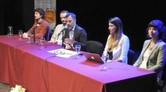 Horacio Rey presentó el plan de gestión transparente ante la comunidad jurídica