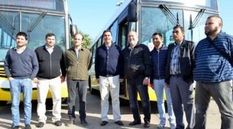Transporte público de pasajeros: Capitanich presentó cuatro unidades cero kilómetro
