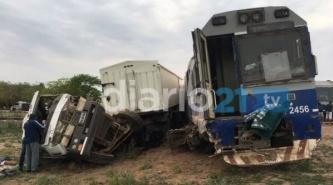 El tren Sáenz Peña - Chorotis queda suspendido por el accidente de ayer en Avia Terai