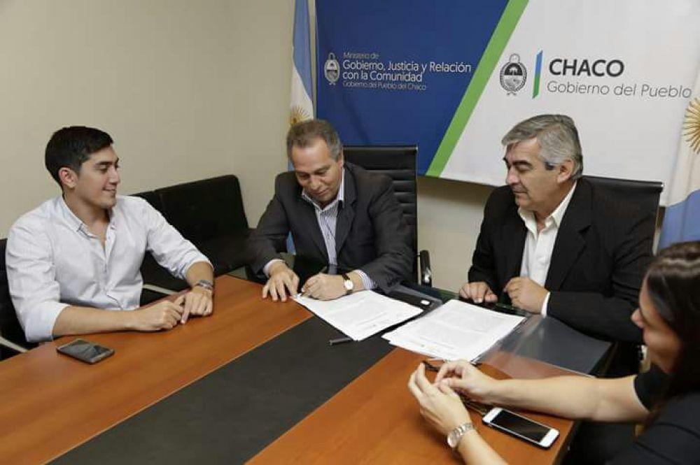 Gobierno y colonizaci n firman convenio para for Convenio oficinas