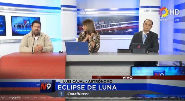 Está Muy Lejos El Horizonte Por Jorge Wagensberg: Eclipse Lunar: El Astrónomo Luis Cajal