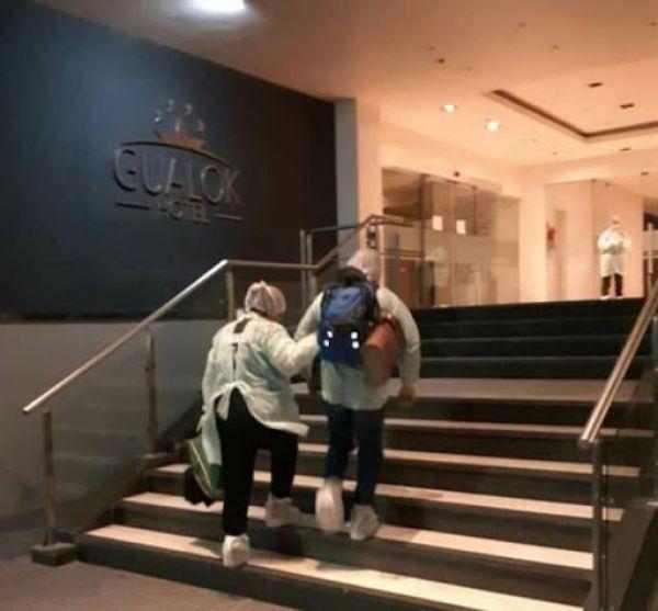 COVID-19: Reacondicionan el Hotel Gualok para poder aislar a más personas